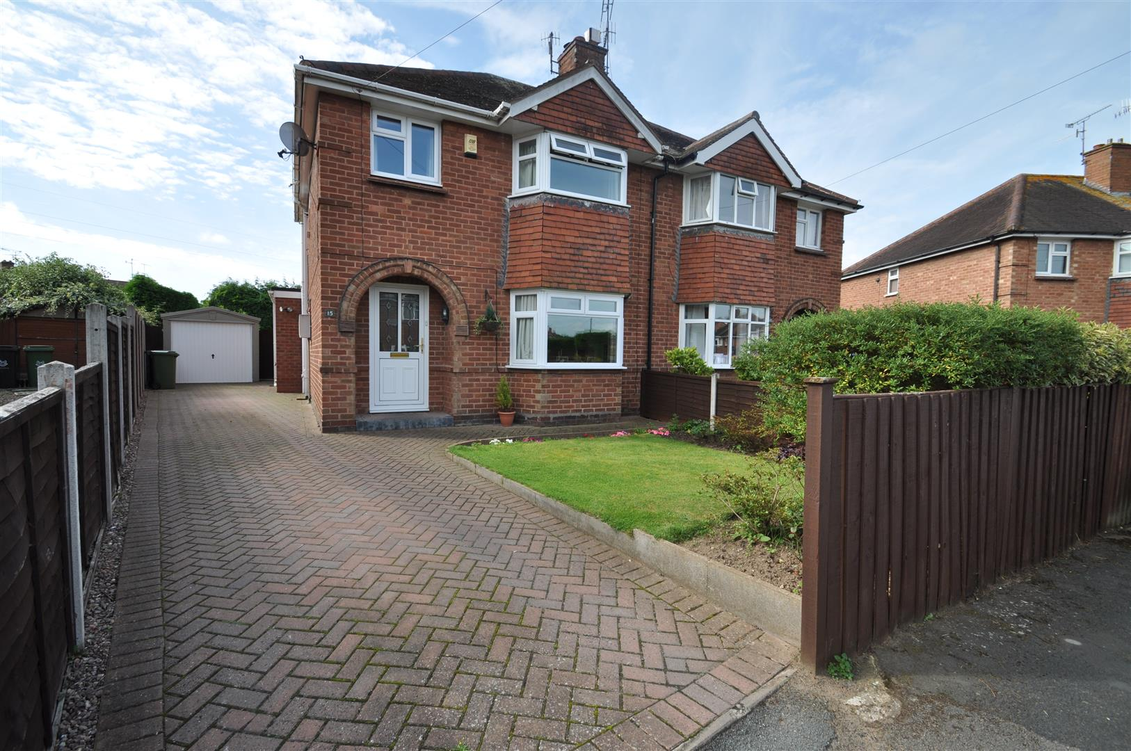 3 Bedrooms Semi Detached House for sale in Blenheim Road, Worcester